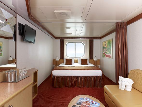 Carnival Magic Ocean View Rooms
